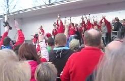 The Coveralls ja VaLePa Vammalan torin kultajuhlissa 2012
